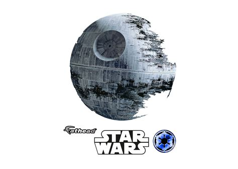 death star wall decal shop fathead 174 for star wars movies
