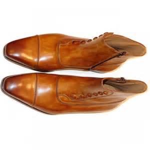 magnanni seleccion collection 14430 zipper boot cognac