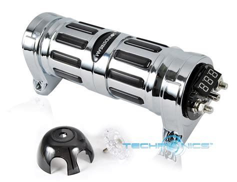 car stereo stiffening capacitors soundstream scx 2 cap 2 farad car digital stiffening power hybrid capacitor