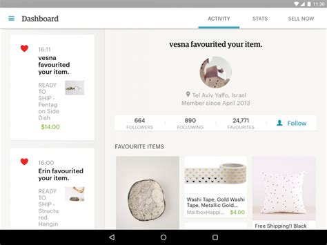 etsy for android sell on etsy apk for android aptoide