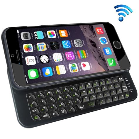 keyboard iphone 6s coque avec clavier coulissant format qwerty kabiloo