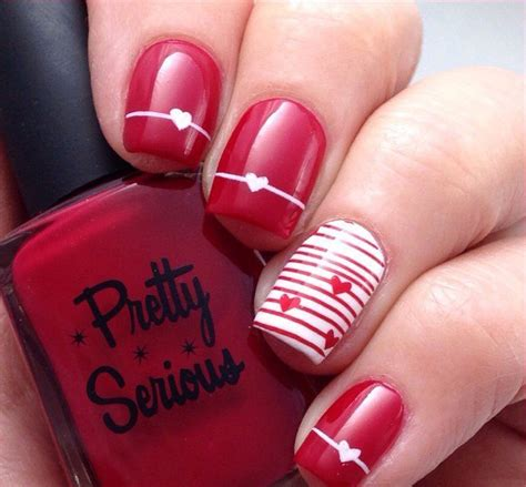 Nägel Rot Gold 4673 by Nail 563 Best Nail Designs Gallery