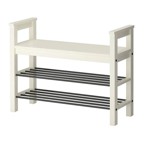 shoe bench ikea hemnes bench with shoe storage white ikea