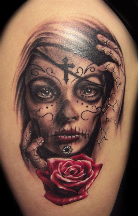 Tattoo Ideas Day Of The Dead | 40 day of the dead tattoo designs for inspiration