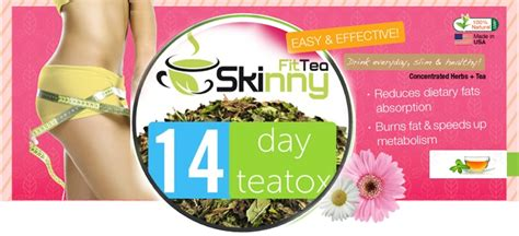 Fit Coffee 14 Day Detox Reviews by Fit Tea 14 Day Tea Detox Promotes Burning