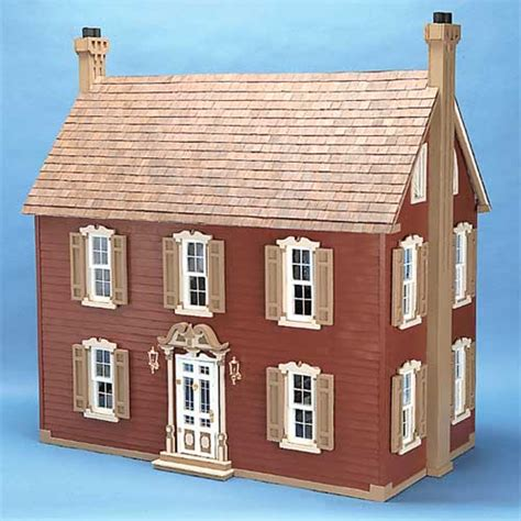 wood doll house kit dollhouse kits by corona concepts the willow dollhouse kit wooden dollhouses