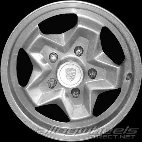 porsche cookie cutter wheels 15 quot porsche cookie cutter wheels in silver alloy wheels