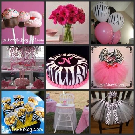 zebra themed birthday party 17 best images about olivia kate s 1st birthday on