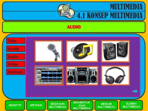 konsep format audio konsep multimedia