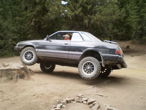 lifted subaru subaru baja off road tires wallpaper 1024x768 23749