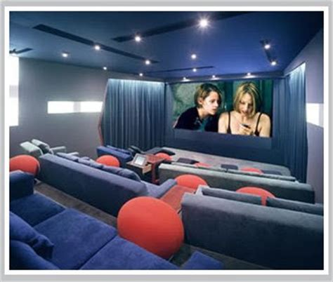 tech home theater room design