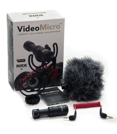 Best Rode Micro Compact On Microphone best quality rode videomicro compact on recording