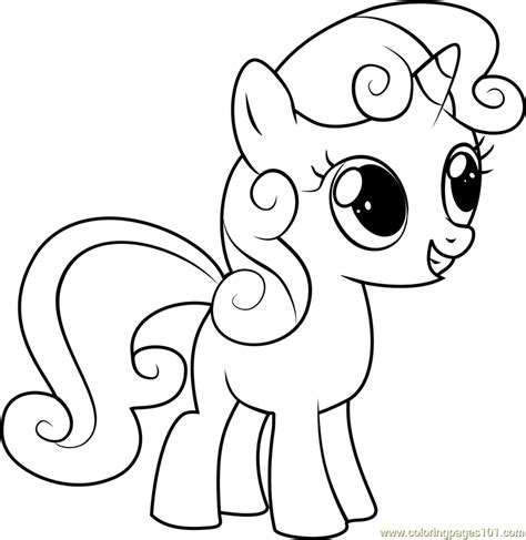 sweetie belle coloring pages sweetie belle coloring page free my little pony
