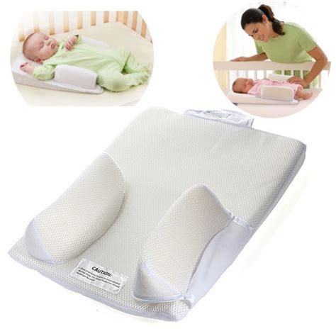 Pillow For Flat Infant baby infant newborn sleep positioner prevent flat shape anti roll pillow ebay