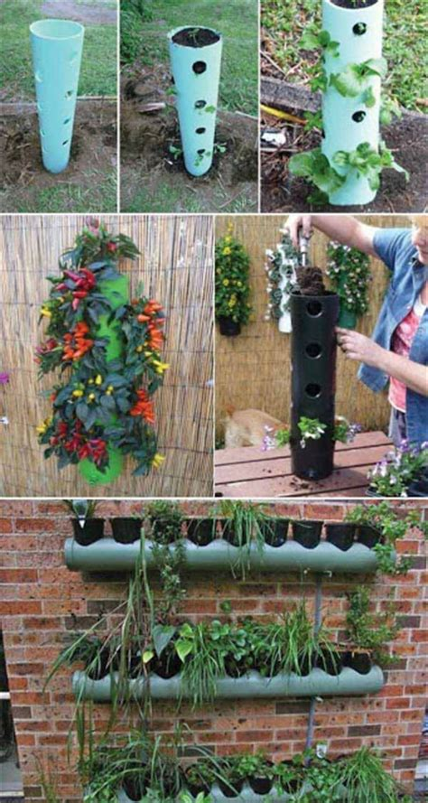 Low Cost Garden Ideas 15 Low Cost Diy Gardening Projects Made With Pvc Pipes Do It Yourself Ideas And Projects