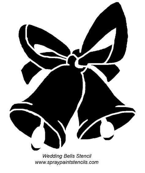 Wedding Bell Stencil by Marquise S They Match With The Wedding Bells Paper
