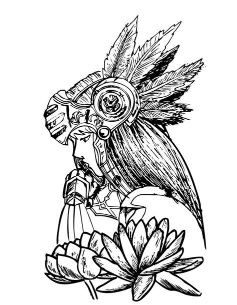 valkyrie tattoo designs valkyrie and lotus by xfreakcorex on deviantart
