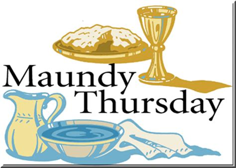 Maundy Thursday Clipart in the ruins maundy thursday