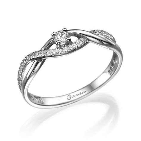 Infinity Engagement Ring, Infinity Ring, Forever Ring