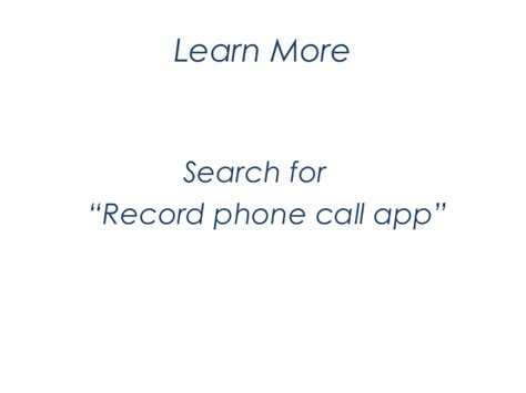 One Time Cell Phone Lookup How To Record Cell Phone Calls