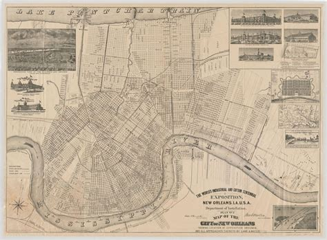 new orleans historical maps purchased lives at thnoc is a must visit for new orleans
