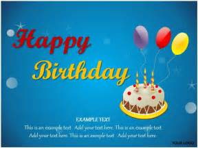 happy birthday powerpoint template happy birthday ppt