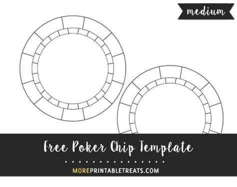poker chip template medium