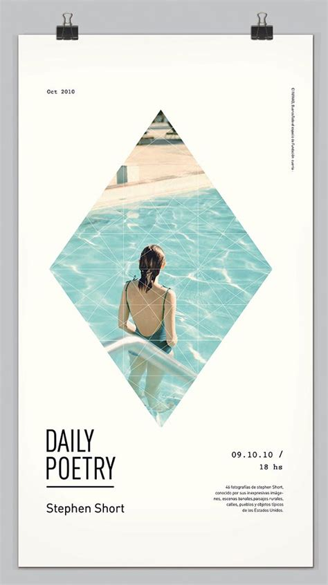 minimalist graphic design layout daily poetry graphic design by clara fern 225 ndez