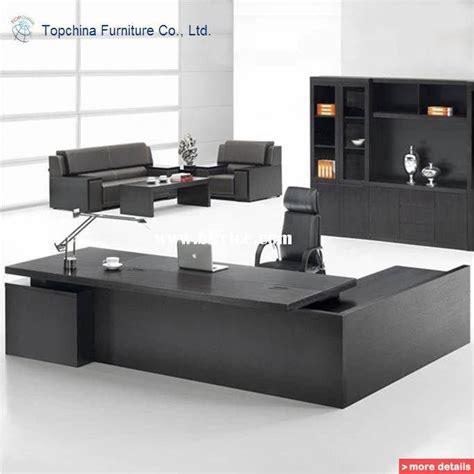 knock  modular modern design wooden executive office