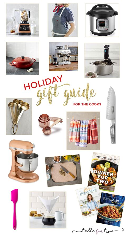 christmas gifts 2016 2016 holiday gift guide for the cooks table for two
