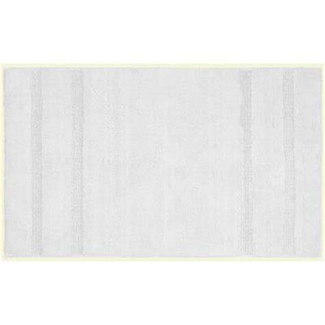 home depot bathroom rugs garland rug majesty cotton white 30 in x 50 in washable