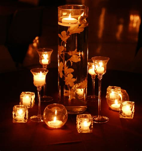 beautiful cheap wedding centerpiece ideas beautiful candles as wedding centerpieceswedwebtalks