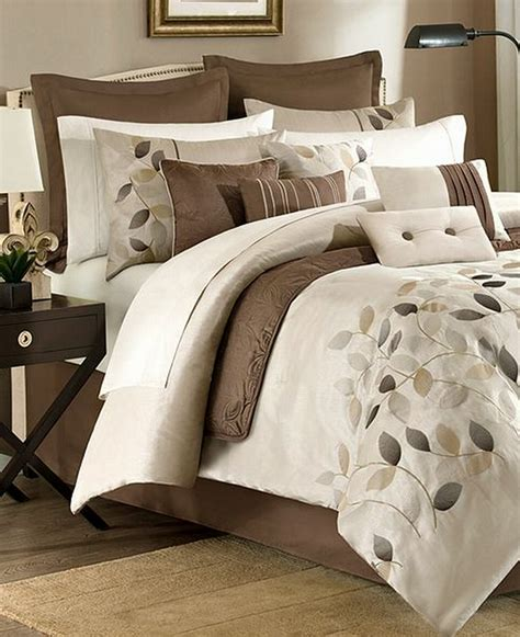 jla home serene queen 12 piece embroidered comforter set