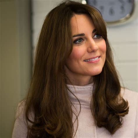 get the look kate middletons autumnal fringe hair how to get the right fringe for your face shape her world