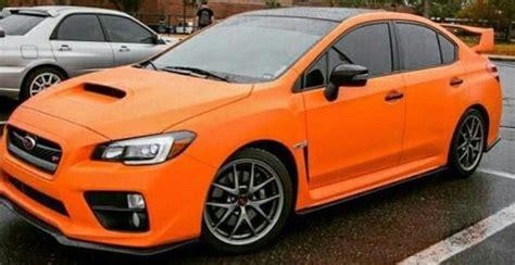 orange  subaru wrx sti subaru wrx wrx  subaru wrx