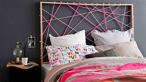 rope headboard how to achieve harmony in a small bedroom with diy projects