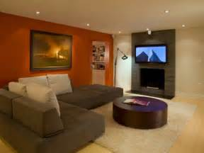 Paint color ideas for living room with brown couch 4197