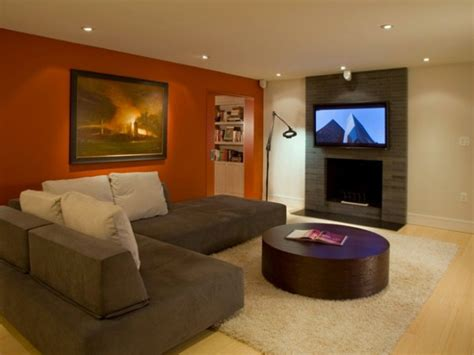 brown paint colors for living rooms paint color ideas for living room with brown couch 4197
