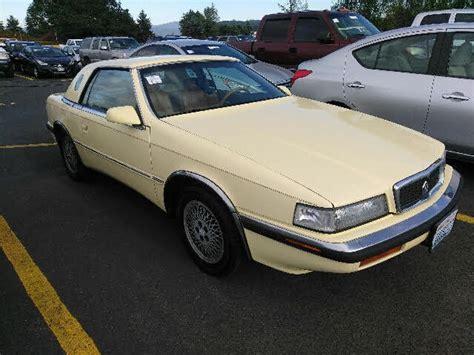 Chrysler Lebaron Maserati by 1989 Chrysler S Lebaron Coupetc By Maserati Convertible