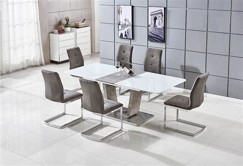 Dining Chair Manufacturers Uk Glendale Extending Dining Table And 6 Chairs Balmoral Furniture One Of Irelands Largest