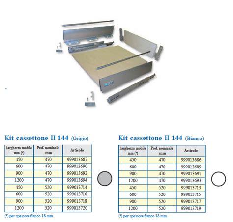 cassetti in kit kit cassetto hz 144 tuttoferramenta it