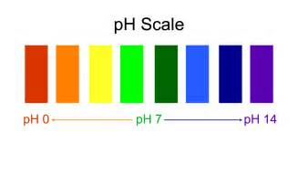 ph color scale pin ph paper scale color on