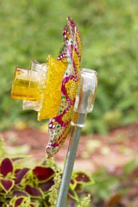 Diy Glass Garden Flowers Diy Glass Garden Flowers Backyard Projects Birds And Blooms