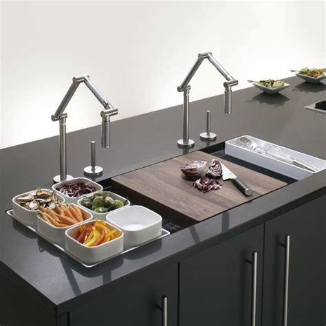 Undermount Single Bowl With Wet Surface Area Kitchen Sink Kitchen Sink Area