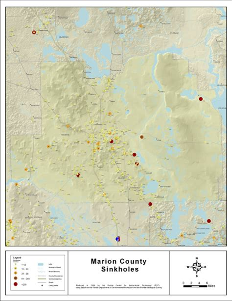 Hairstyle Consultation In Ocala Fl by Sinkhole Map Marion County Interactive Florida Sinkhole