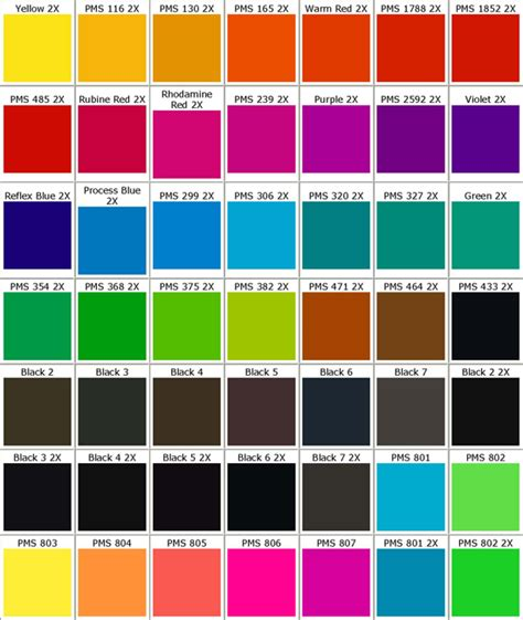 pantone color code cmyk color codes 28 images code wide open inkscape