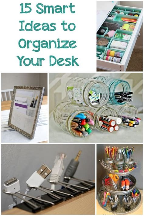How To Organize Your Desk At Work 25 B 228 Sta Id 233 Erna Om Cool Ideas P 229 Pinterest Scrapbookingid 233 Er