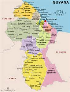 guyana map south america guyana political map latinosearch biz