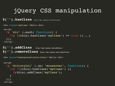 jquery design guidelines jquery remove css style attribute phpsourcecode net