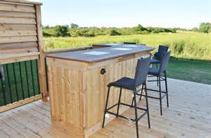 Outside Bar Plans by Outdoor Bar Ideas For Outdoor Decor